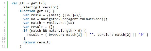 JS获取IE版本号与HTML怎么设置IE文档模式?设置方法介绍