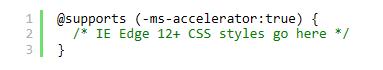 怎样只在IE上加载CSS样式表?解决方法说明