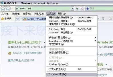 如何删除浏览器记录?删除IE上记录的帐号及密码方法分享