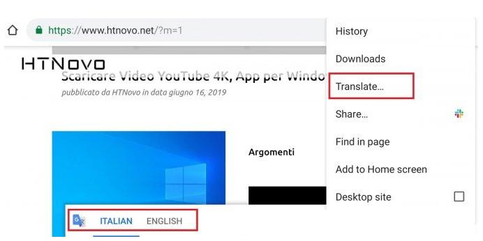 谷歌手机浏览器怎么翻译 页面翻译功能介绍
