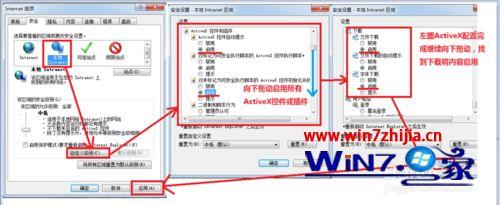 Win7系统浏览网页提示已经阻止此站点用不安全方式使用ActiveX控件如何解决?解决网页提示已经阻止此站点用不安全方式使用ActiveX控件的方法说明