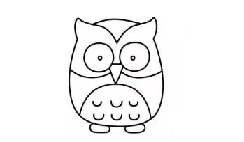 qq画图红包猫头鹰怎么画?QQ红包猫头鹰画法分享